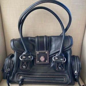 Authentic FRANCESCO BIASIA Hobo Purse Leather